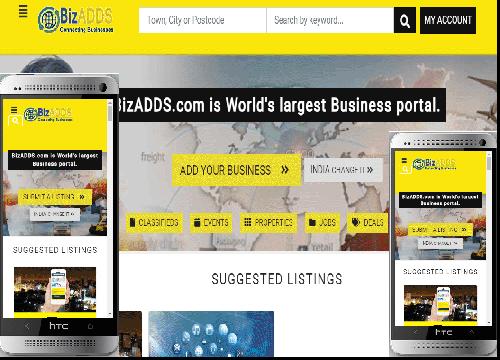 BizADDS.COM Mobile Application