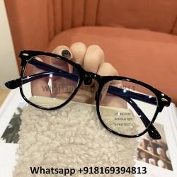 Black Wayfarer Blue Light Computer Glasses